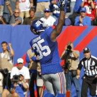 Andre Brown, New York Giants (September 16, 2012)