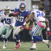 Hakeem Nicks, New York Giants (October 28, 2012)