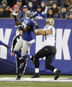 Stevie Brown, New York Giants (December 9, 2012)
