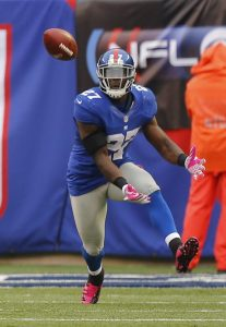 Stevie Brown, New York Giants (October 7, 2012)
