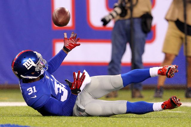 Aaron Ross, New York Giants (August 18, 2013)