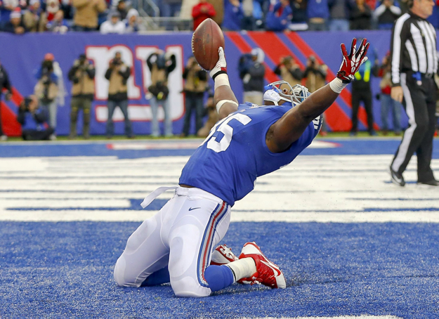 Andre Brown, New York Giants (November 10, 2013)