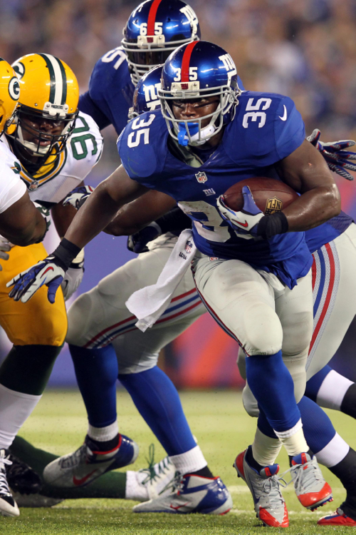 Andre Brown, New York Giants (November 17, 2013)