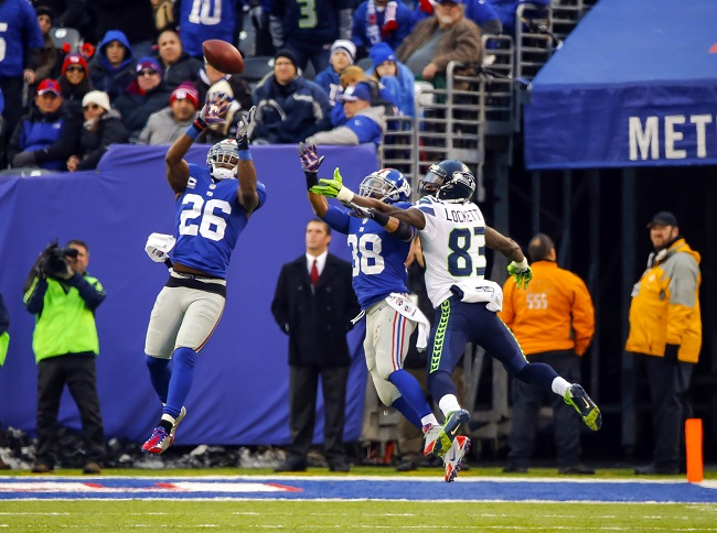 Antrel Rolle, New York Giants (December 15, 2013)