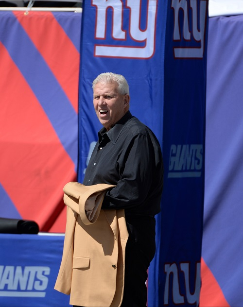 Bill Parcells, New York Giants (September 15, 2013)