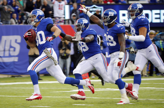 Cooper Taylor (30), New York Giants (November 10, 2013)