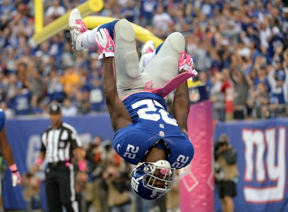 David Wilson, New York Giants (October 6, 2013)