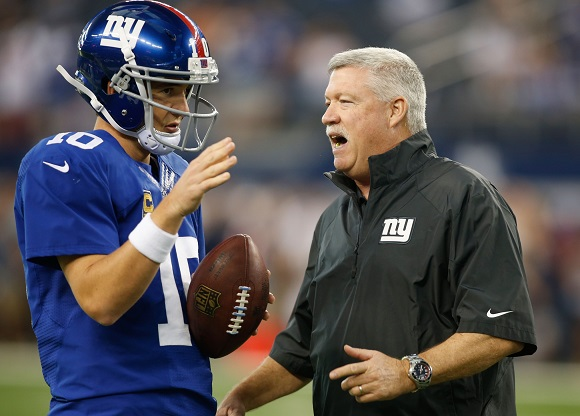 Kevin Gilbride Defends Eli Manning; Matt Flynn Re-Signs With Packers