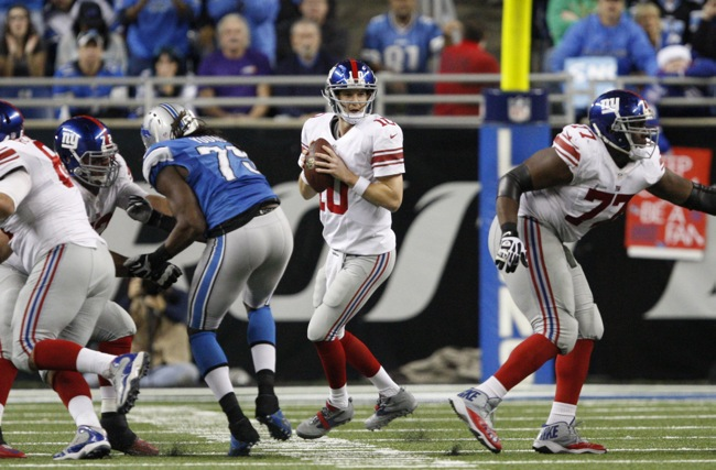 Eli Manning, New York Giants (December 22, 2013)