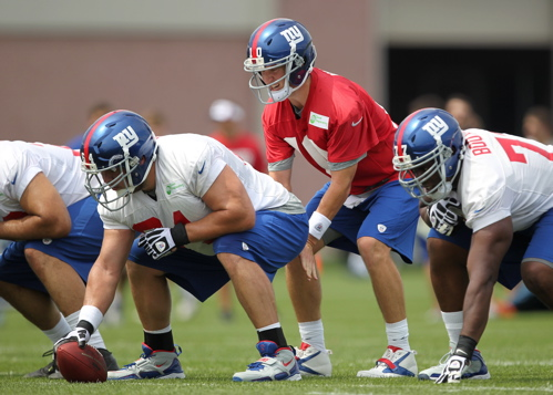 Eli Manning, New York Giants (July 27, 2013)