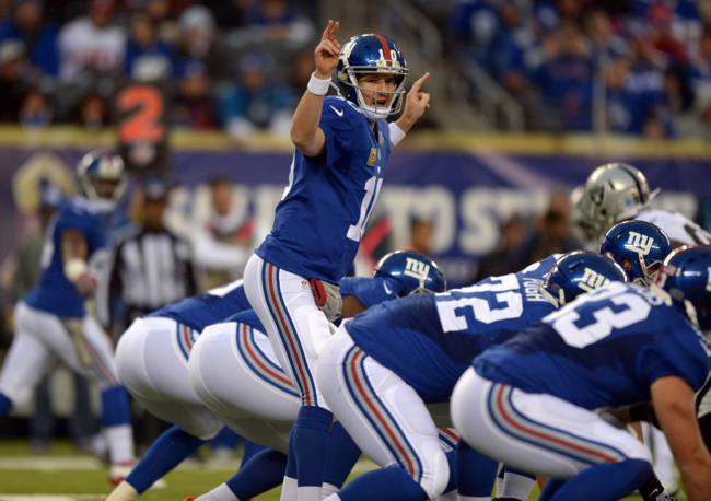 Eli Manning, New York Giants (November 10, 2013)