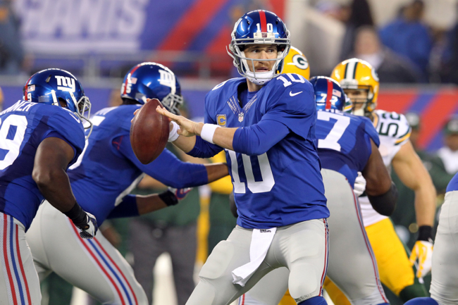 Eli Manning, New York Giants (November 17, 2013)
