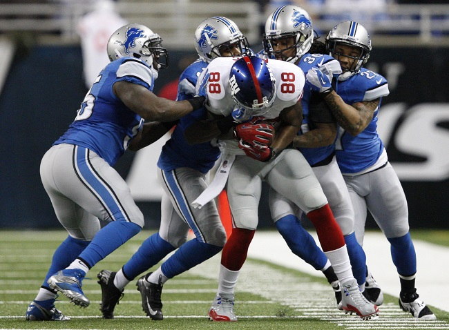 Hakeem Nicks, New York Giants (December 22, 2013)