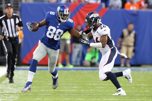 Hakeem Nicks, New York Giants (September 15, 2013)