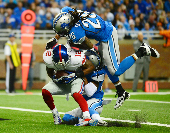 Jerrel Jernigan, New York Giants (December 22, 2013)
