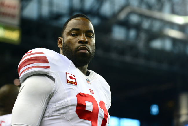 Justin Tuck, New York Giants (December 22, 2013)
