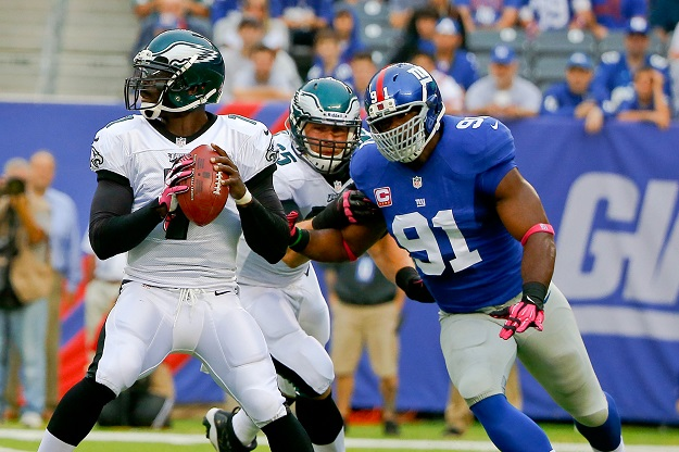 Justin Tuck, New York Giants (October 6, 2013)