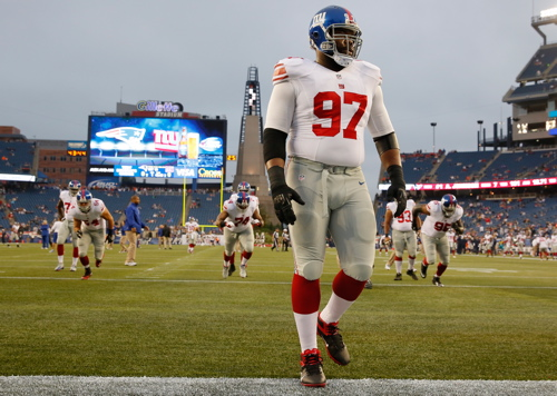 Linval Joseph, New York Giants (August 29, 2013)