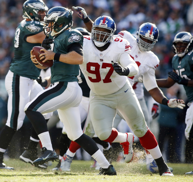 Linval Joseph, New York Giants (October 27, 2013)