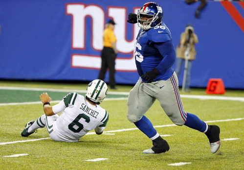 Marvin Austin, New York Giants (August 24, 2013)