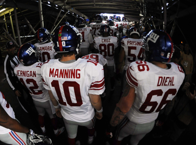 New York Giants (December 8, 2013)
