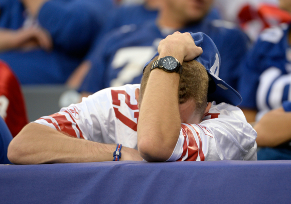 New York Giant Fan (October 6, 2013)