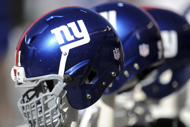 New York Giants Helmets (October 27, 2013)