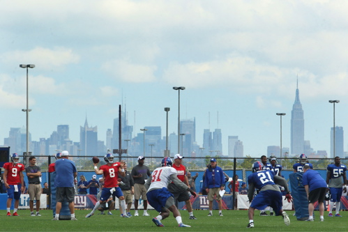 New York Giants Training Camp (August 7, 2013)