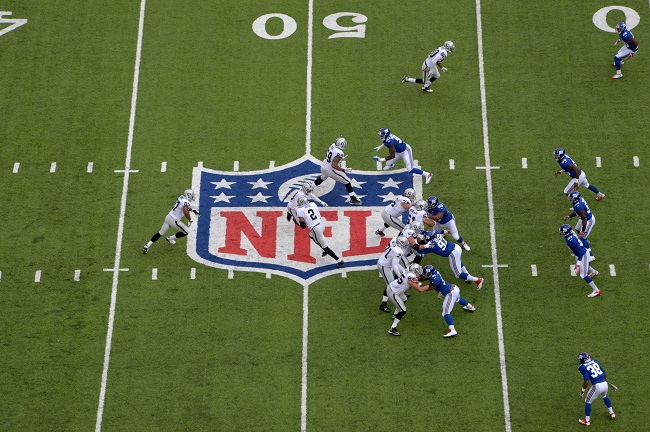 Oakland Raiders at New York Giants (November 10, 2013)