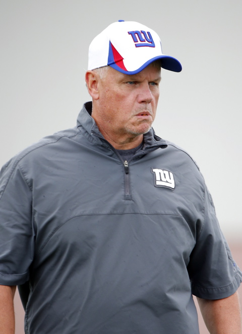 Pat Flaherty, New York Giants (July 28, 2013)