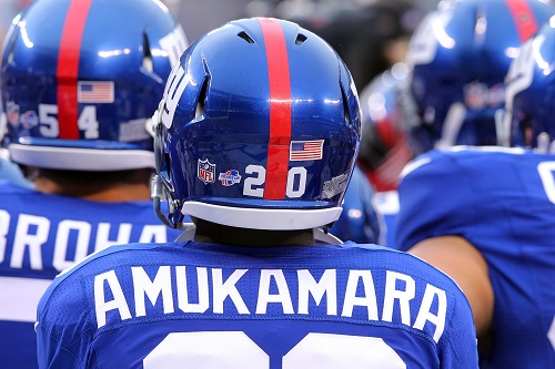 Prince Amukamara, New York Giants (August 18, 2013)
