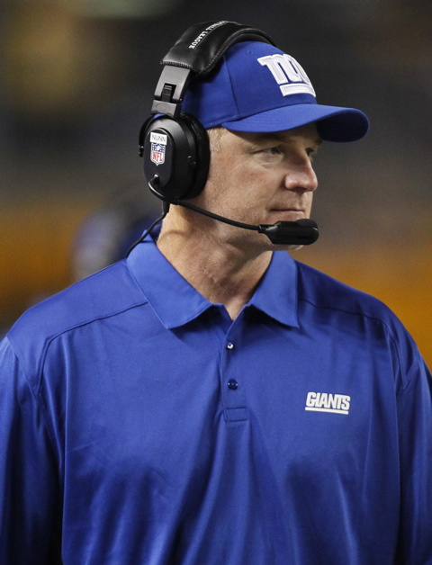 October 21, 2014 New York Giants Position Coach Media Sessions