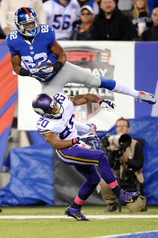 Rueben Randle, New York Giants (October 21, 2013)