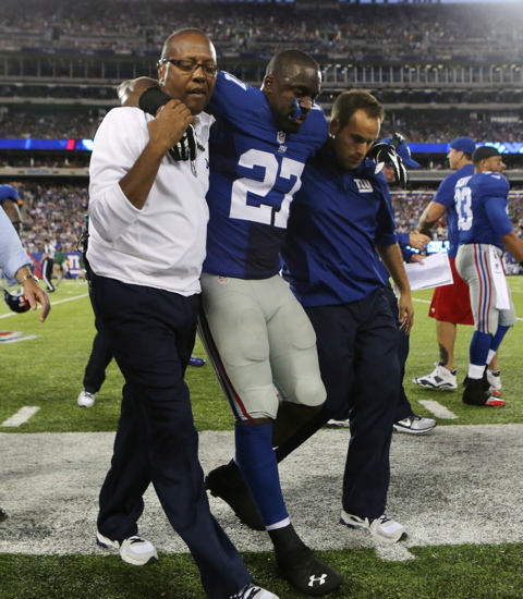 Stevie Brown, New York Giants (August 24, 2013)