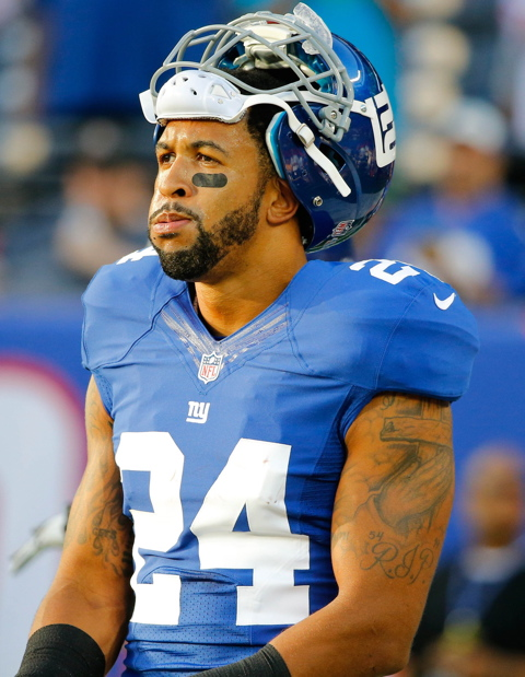 Terrell Thomas, New York Giants (August 24, 2013)
