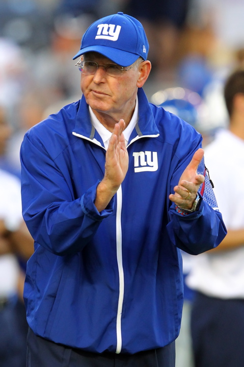 Tom Coughlin, New York Giants (August 24, 2013)
