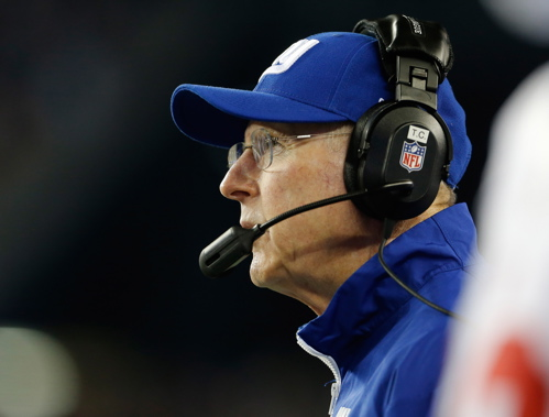 Tom Coughlin, New York Giants (August 29, 2013)