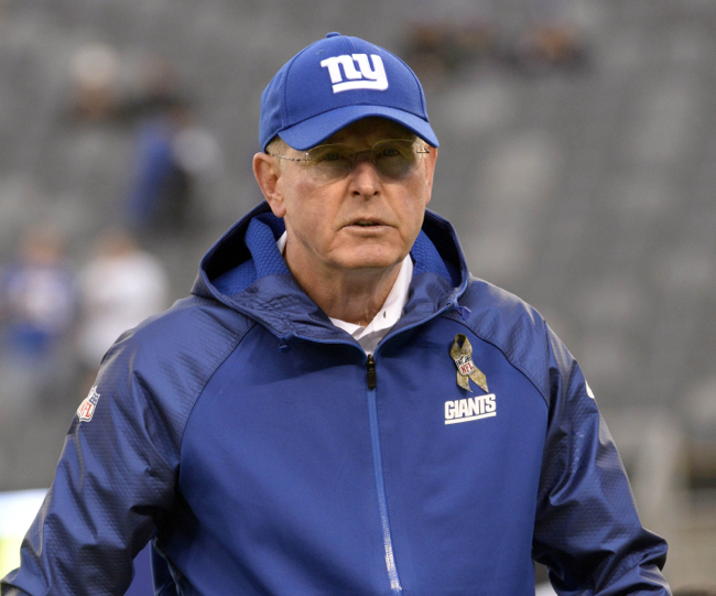Tom Coughlin, New York Giants (November 17, 2013)