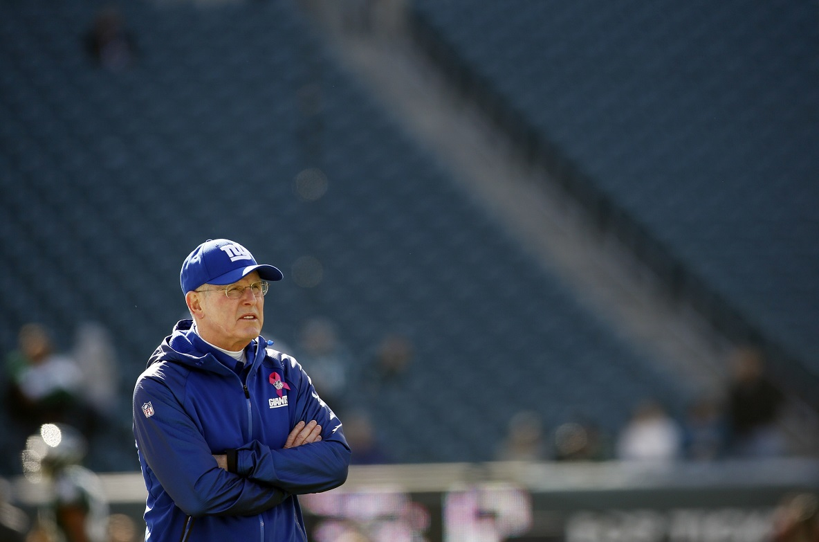 Tom Coughlin, New York Giants, (October 27, 2013)