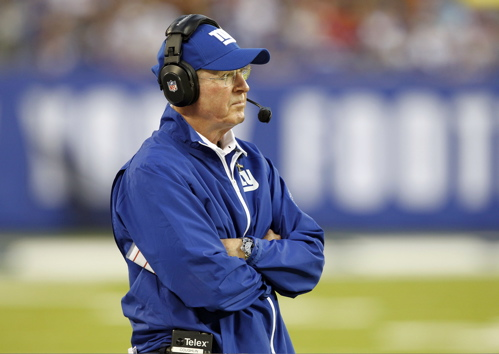 Tom Coughlin, New York Giants (September 15, 2013)
