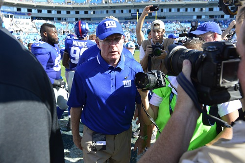Tom Coughlin, New York Giants (September 22, 2013)