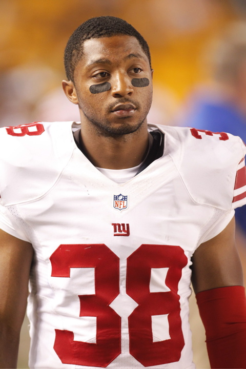 Trumaine McBride, New York Giants (August 10, 2013)