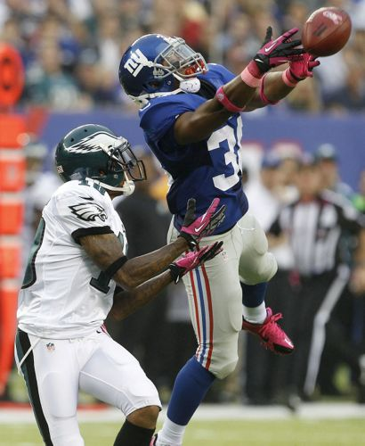 Trumaine McBride, New York Giants (October 6, 2013)
