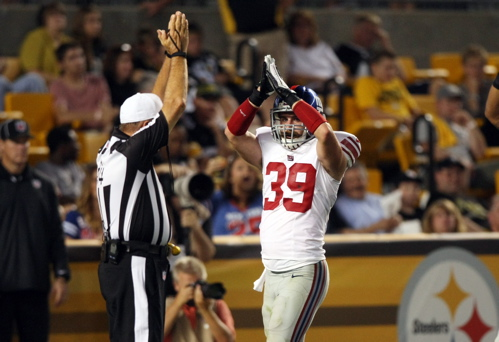 Tyler Sash, New York Giants (August 10, 2013)