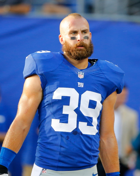 Tyler Sash, New York Giants (August 24, 2013)