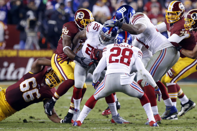 Will Hill, New York Giants (December 1, 2013)