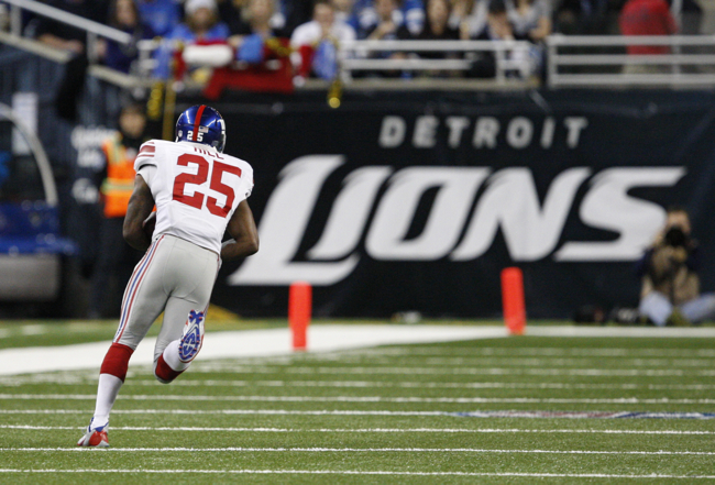 Will Hill, New York Giants (December 22, 2013)