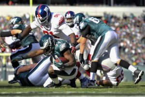 Justin Tuck, New York Giants (October 27, 2013)