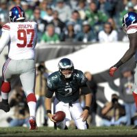 Linval Joseph (97), Jason Pierre-Paul (90), New York Giants (October 27, 2013)