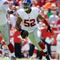 Spencer Paysinger, New York Giants (September 29, 2013)